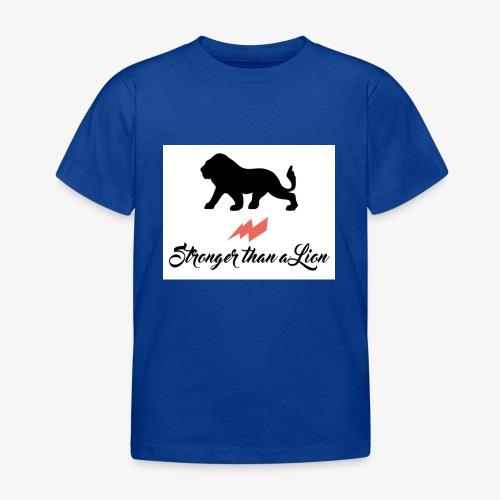 Stronger than a Lion - Kinder T-Shirt