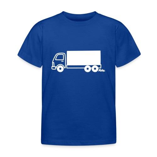 LKW lang - Kinder T-Shirt