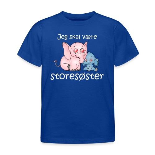 Storesøster-DK - Børne-T-shirt