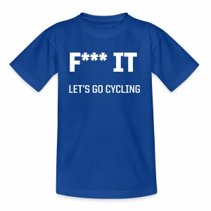 Let s go cycling - Kinder T-Shirt