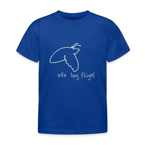 Schwärmer - Alle Tag Flügel - weiß - Kinder T-Shirt