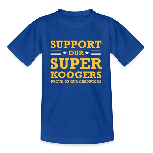support our superkoogers - Kinderen T-shirt