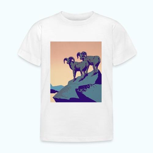 Vintage Capricorn Travel Poster - Kids' T-Shirt