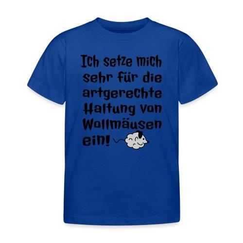 Wollmaus Staub Putzen Haushalt Wohnung Spruch - Kinder T-Shirt