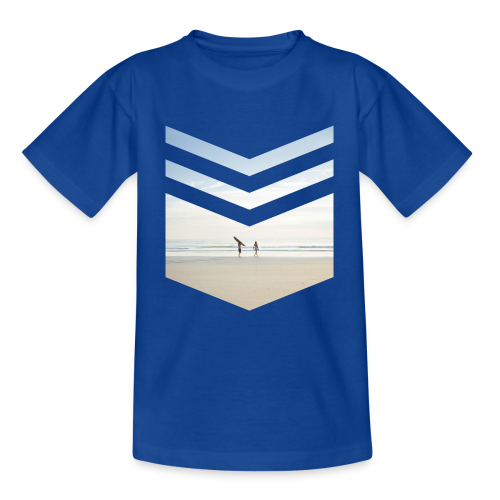 Surfing Beach - Kinder T-Shirt