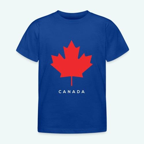 Canada-Lover - Kinder T-Shirt