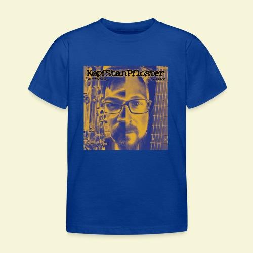 KopfStanPfloster Bild - Kinder T-Shirt