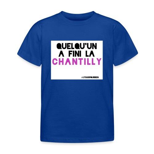 Chantilly - T-shirt Enfant