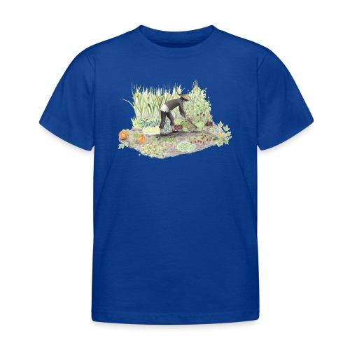 Auf dem Acker Schmal – Handgezeichnet - Kinder T-Shirt