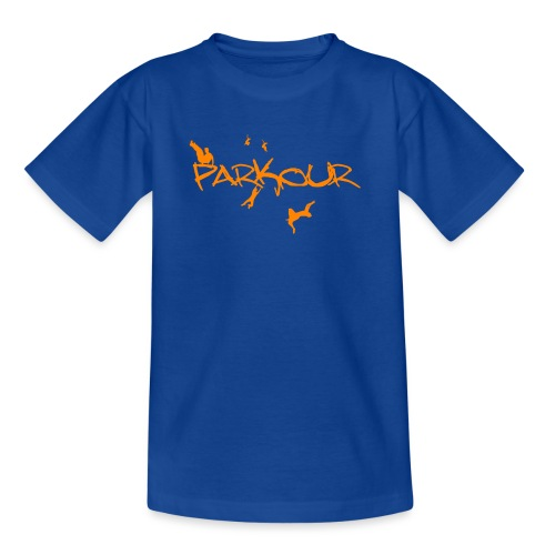 Parkour Orange - Børne-T-shirt