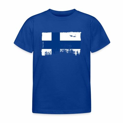 Suomen lippu, Finnish flag T-shirts 151 Products - Lasten t-paita