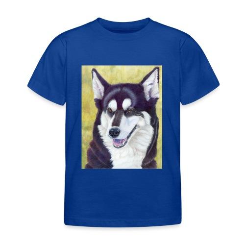 Siberian husky - Børne-T-shirt