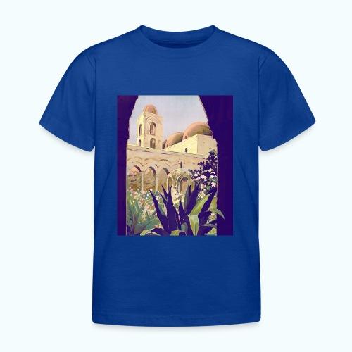Palermo Vintage Travel Poster - Kids' T-Shirt