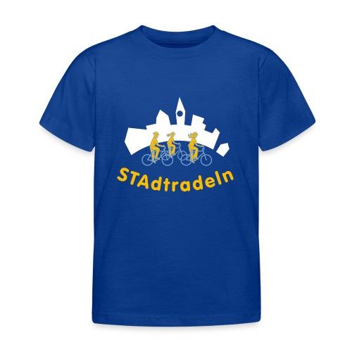 STAdtradeln 2012 Logo quadratisch Pixel - Kinder T-Shirt