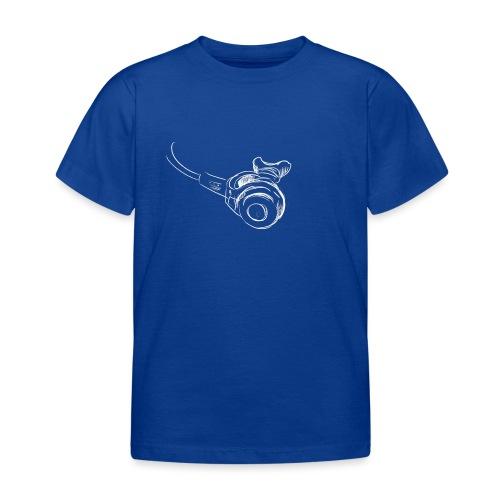 Atemregler weiss - Kinder T-Shirt
