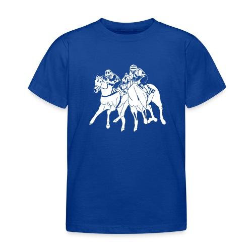 aufkleber scherenschnitttransparent weis - Kinder T-Shirt
