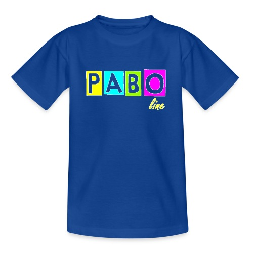 pabo line 4 color - Kinder T-Shirt