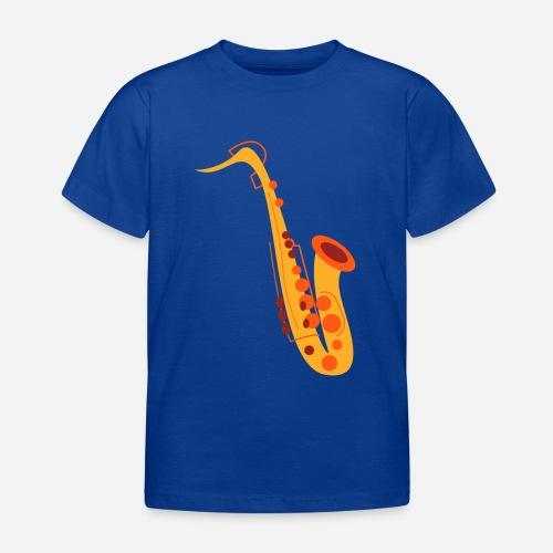 Goldenes Saxophon - Kinder T-Shirt
