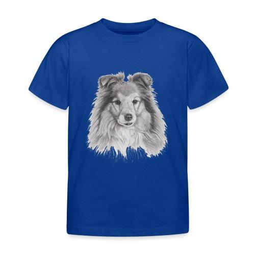 shetland sheepdog sheltie - Børne-T-shirt