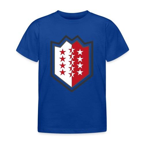 Bouclier moderne du Valais - Kinder T-Shirt