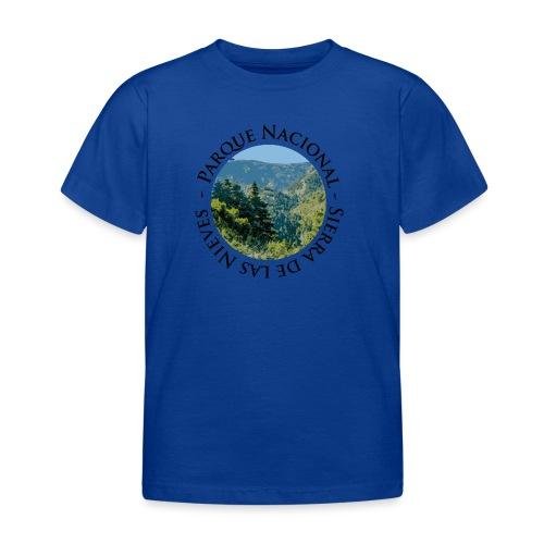 Parque Nacional Sierra de las Nieves - Camiseta niño