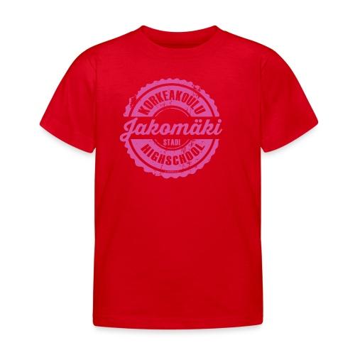 77P-JAKOMÄEN KORKEAKOULU - Stadi, Helsinki - Lasten t-paita