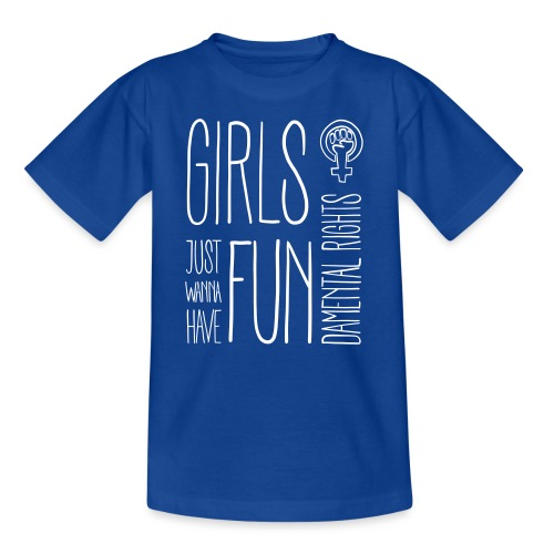 Girls just wanna have fundamental rights - Kinder T-Shirt