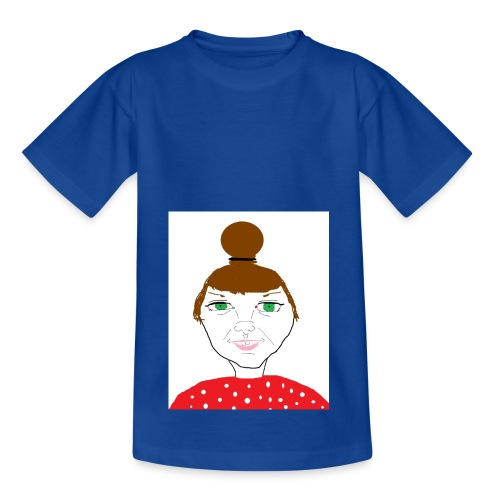 Bonny with a bun - T-shirt barn