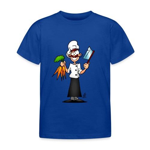 The vegetarian chef - Kids' T-Shirt