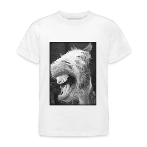 lachender Esel - Kinder T-Shirt