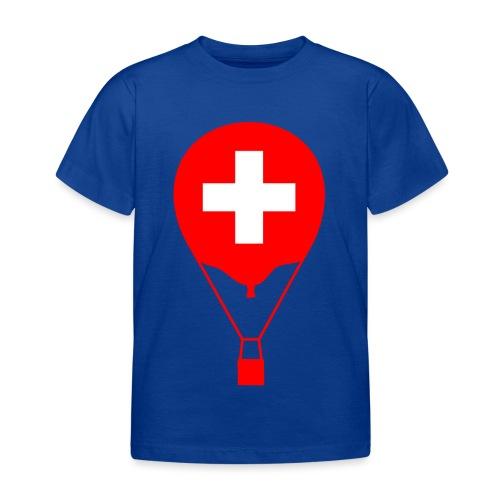Gasballon im schweizer Design - Kinder T-Shirt