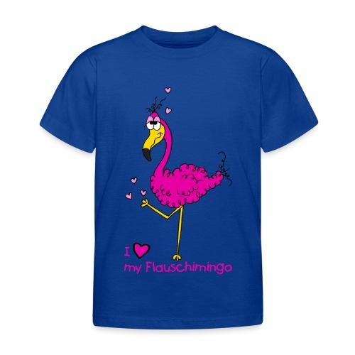 I love my Flauschimingo - Kinder T-Shirt