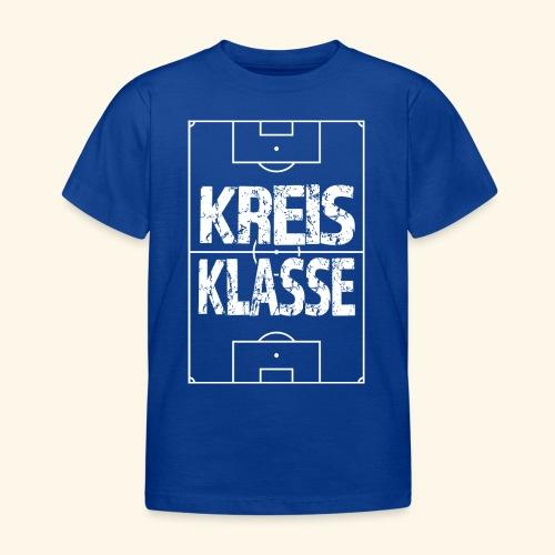 KREISKLASSE im Fußballfeld - Kinder T-Shirt