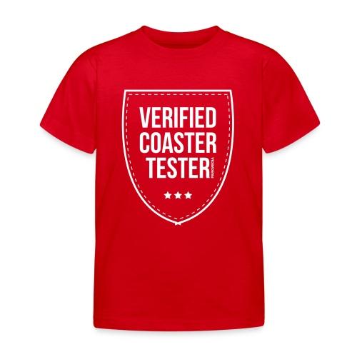 Badge CoasterTester vérifié - T-shirt Enfant