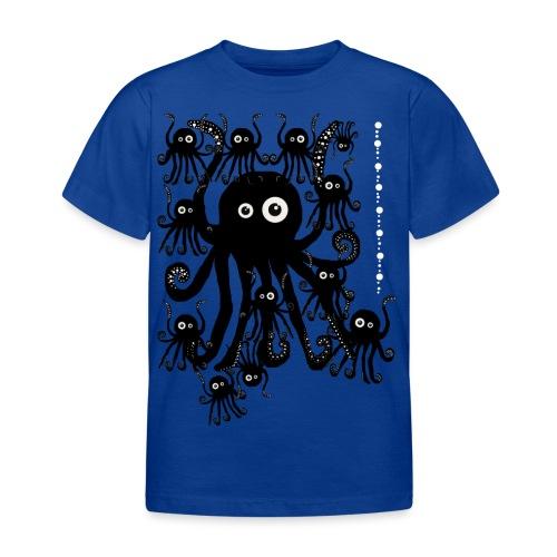 Sweet Octopi by BlackenedMoonArts - Børne-T-shirt