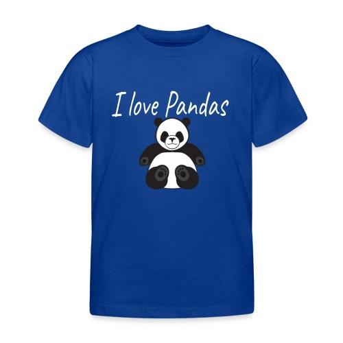 J'aime les pandas - T-shirt Enfant