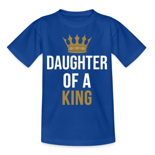 Daughter of a King Vater Tochter partnerlook - Kinder T-Shirt