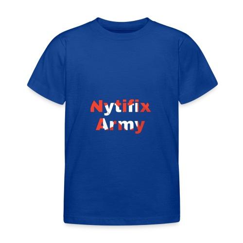 Nytifix Army T-Shirt - Kinder T-Shirt