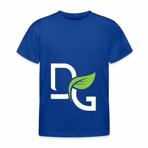 DrGreen Logo Symbol weiss grün - Kinder T-Shirt