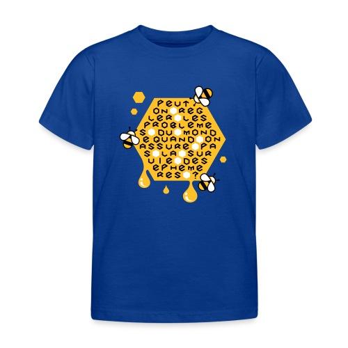 Sauver les abeilles - T-shirt Enfant