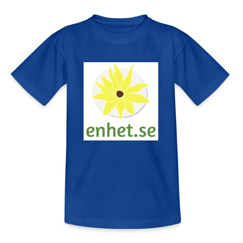 Enhet_logotyp_hq_text_und - T-shirt barn