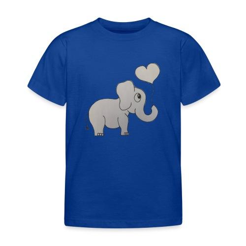 LackyElephant - Kinder T-Shirt