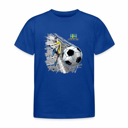 FP22F 16 SWEDEN FOOTBALL - Lasten t-paita