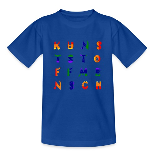 KunstStoffMensch #6 - Rainbow Edition - Kinder T-Shirt