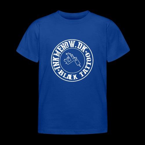 logo hvid png - Børne-T-shirt