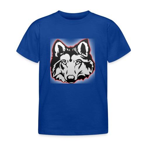 Wolfie (Red) - Kids' T-Shirt