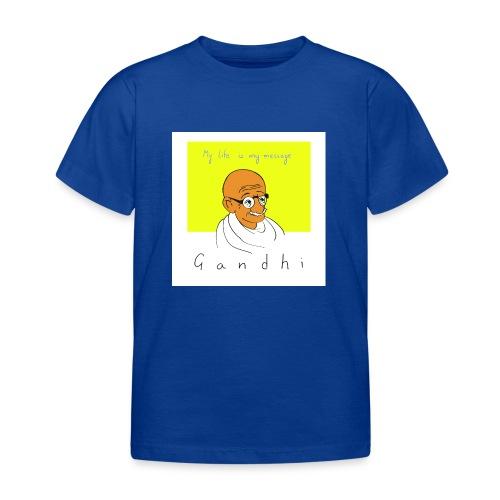Gandhi - Kinder T-Shirt