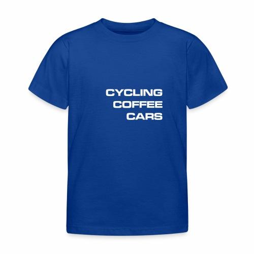 Cycling Cars & Coffee - Kids' T-Shirt