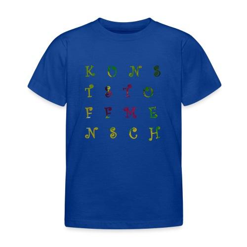 KunstStoffMensch #3 - Kinder T-Shirt
