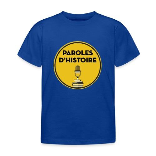 Paroles d'histoire - T-shirt Enfant